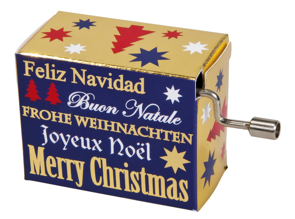 "Fridolin® Spieluhr ""Merry Christmas"""