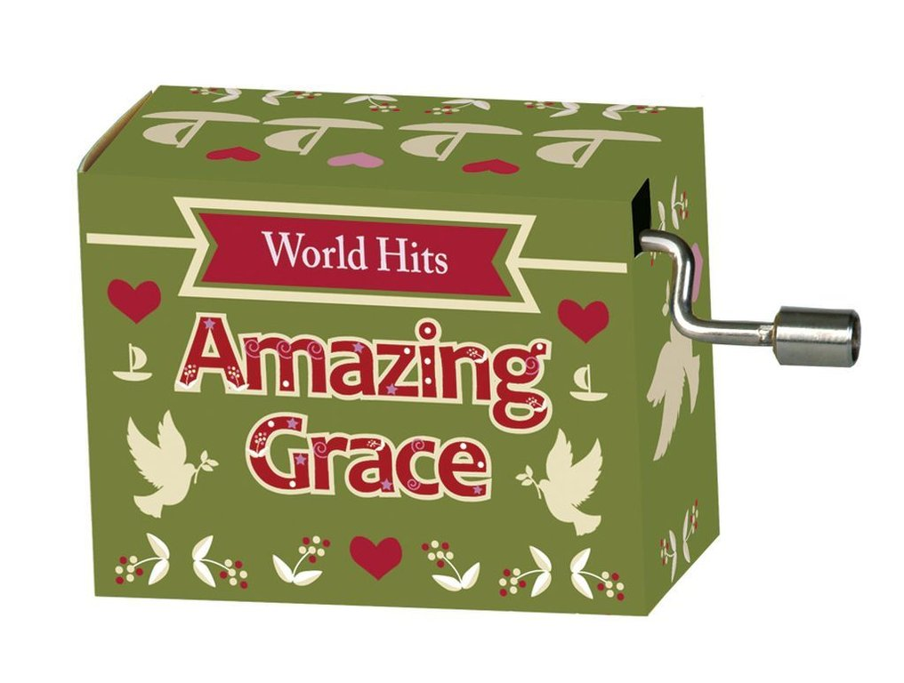 "Fridolin® Spieluhr World-Hits ""Amazing Grace"""