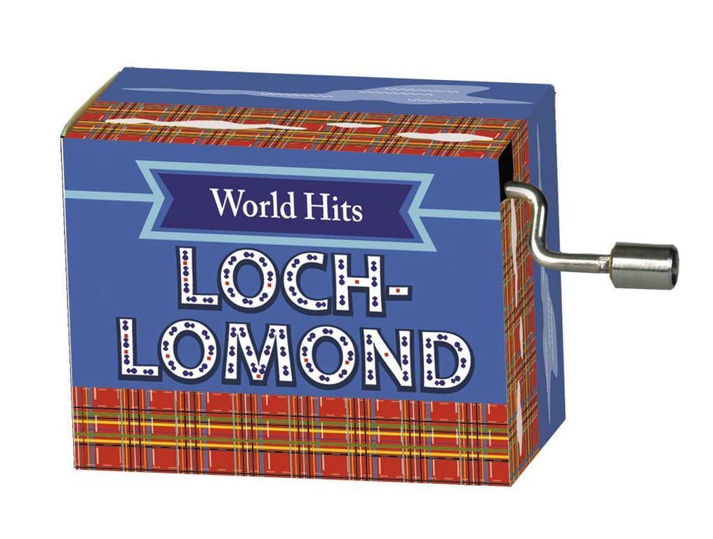 "Fridolin® Spieluhr World-Hits ""Loch Lomond"""